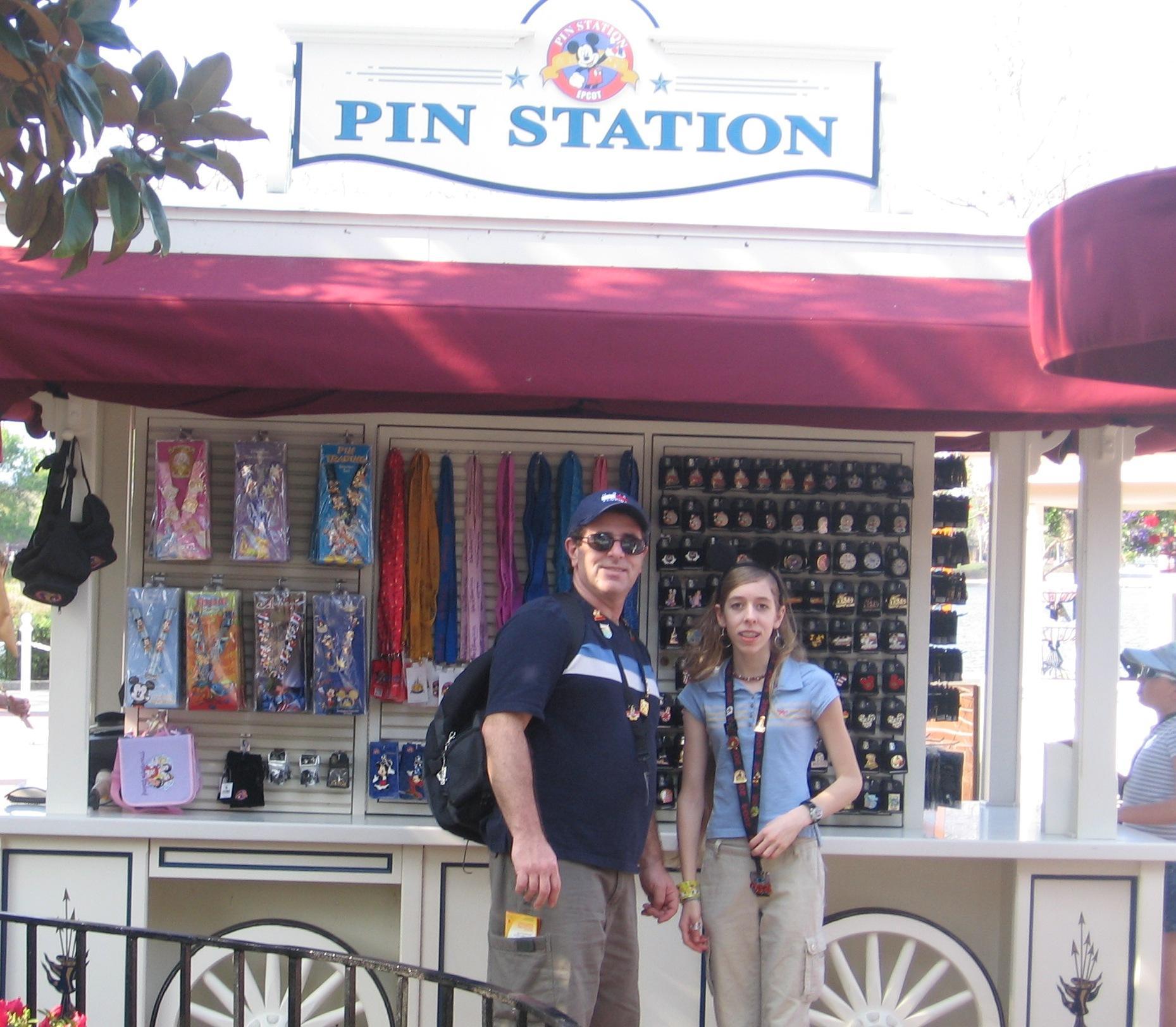 Pin station